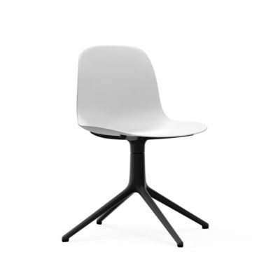 Form Chair Swivel 4L Black Alu1