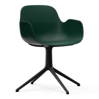 normann-copenhagen-form-armchair-swivel-stoel-met-zwart-onderstel1